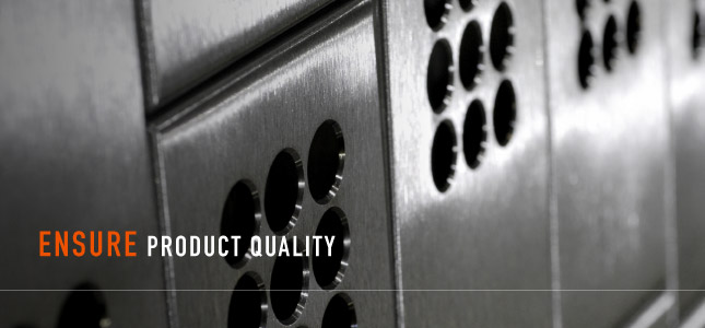 Ensure Product Quality